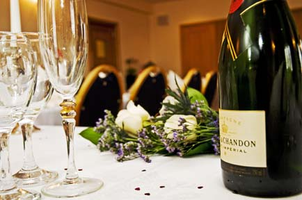 Celebrate your wedding in style at the Solway Lodge Hotel, Gretna